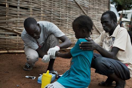 Pamat, Northern Bahr El Ghazal, South Sudan, where MSF provides medical services