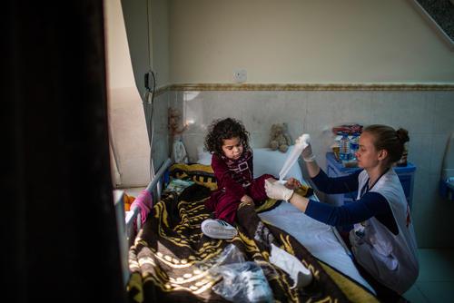 Post Operative Care in South Mosul, Iraq