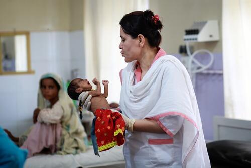 Malnutrition Resistance to Breastfeeding Balochistan