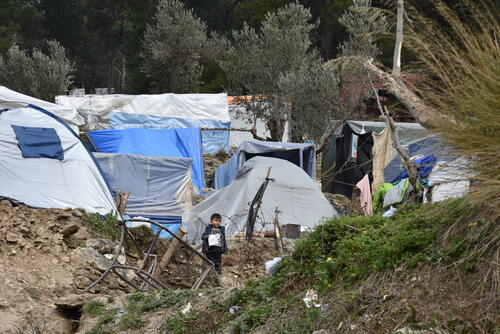 Living conditions on Samos