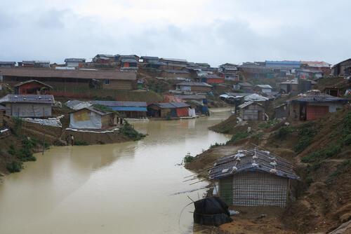 Monsoon Season Kutupalong/Balukhali Refugee Camp