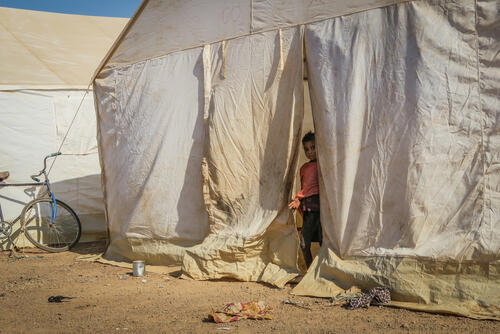 Inside Barsalogho IDP camp