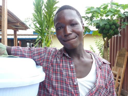 Kollie James in Foya is the 1000st Ebola survivor