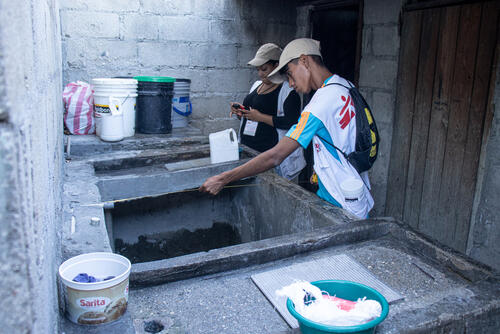 Dengue outbreak in Honduras