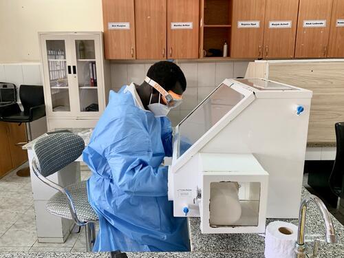 COVID-19 Intervention: National Public Health Laboratory, Juba