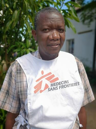 Steven Labana, MSF logistician and community health worker