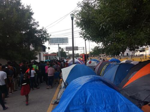 The Migration Protection Protocol in the state of Tamaulipas