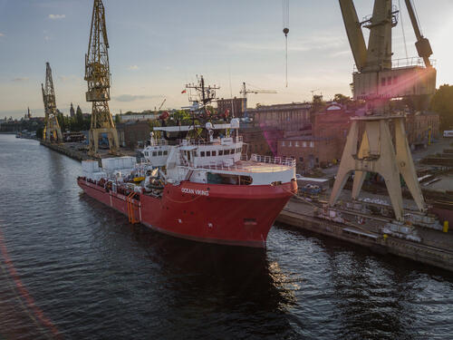 Ocean Viking - Search and Rescue Activities New Ship