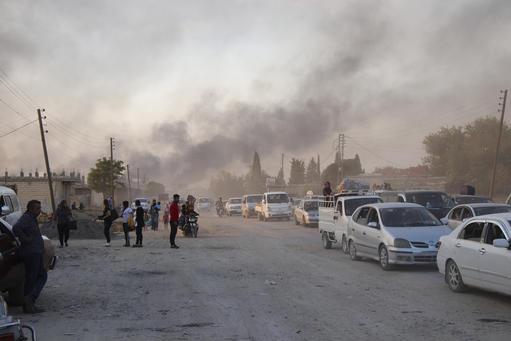Emergency North East Syria: Civilians Fleeing Offensive Ras al-Ain