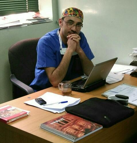 Abdullah Alawneh, MSF operation theatre supervisor in Ramtha, 2013–2018
