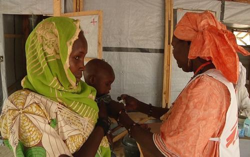 MSF health post in Yebi, Diffa, Niger
