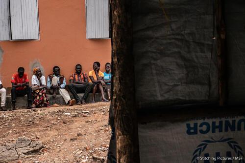 South Sudanese refugee camps in Yumbe, Uganda