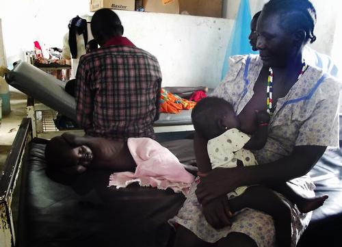 Lack of antimalaria treatment in South Sudan