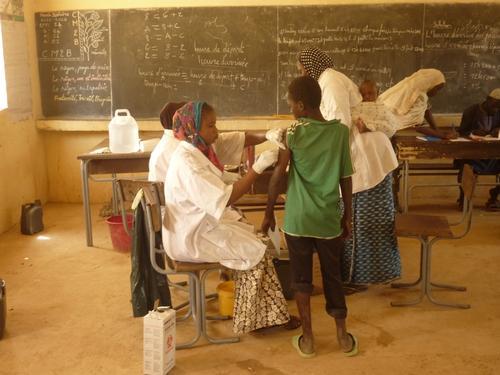 Meningitis Vaccination Campaign, Niger