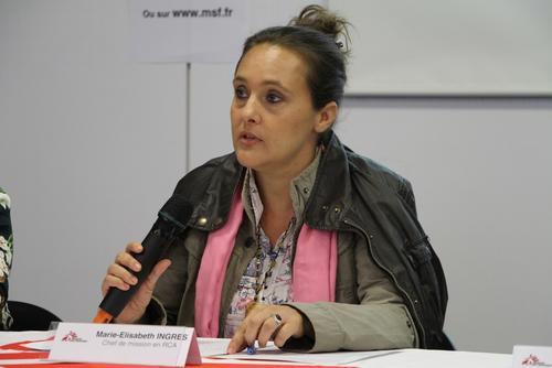 Conference de presse, urgence Centrafrique.