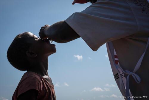 Cholera vaccination in Kyangwali