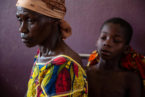 MSF Measles Intervention Bossangoa: Maxime Story