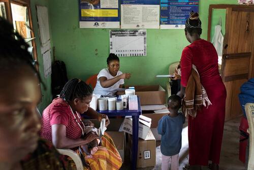 Adagom clinic, Adagom village, Cross River State