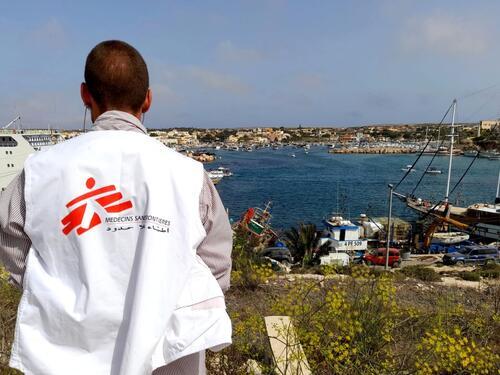 msf activities in Lampedusa