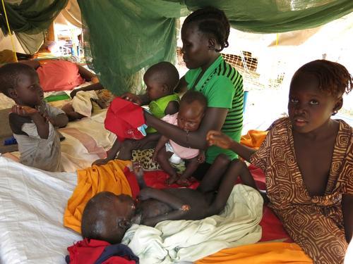 Tomping Camp, South Sudan