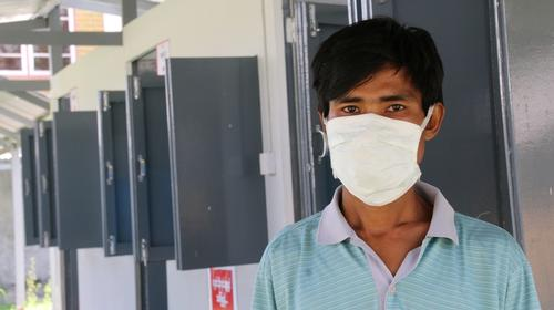 MDR-TB treatment MSF Clinic Yangon, Myanmar