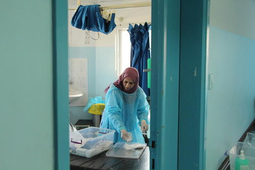 Treating Gaza's infections