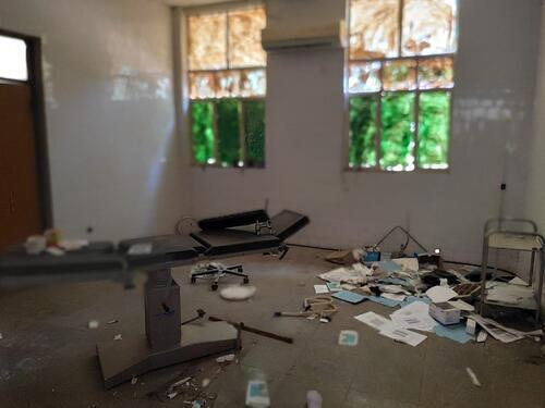 May Kuhl health center room