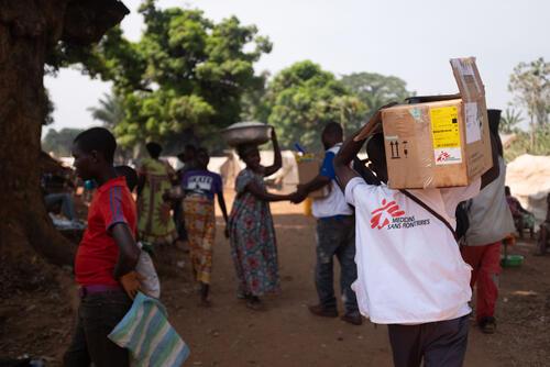 CAR electoral crisis 2021: MSF response in Bangassou and Ndu