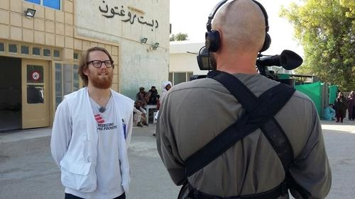 Dr Erlend Grønningen - Boost Hospital, Helmand, Afghanistan