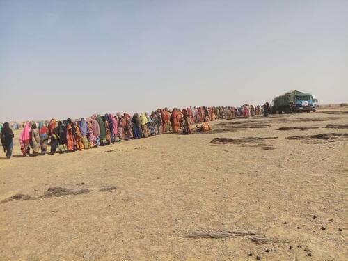 الاستجابة لحالة الطوارئ في منطقة تيلابيري في النيجر