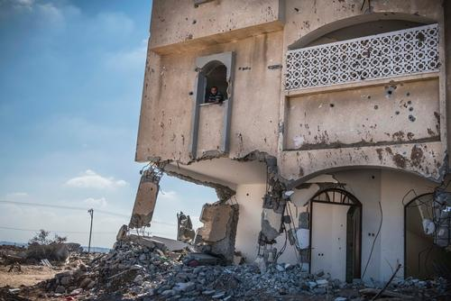 Views from Shejaaia, northern Gaza
