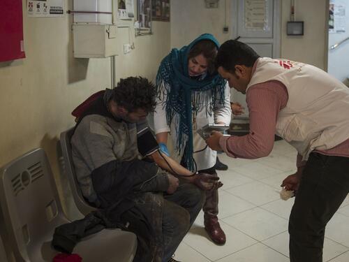 MSF activities in South Teheran