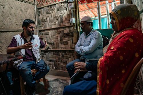 Mental healthcare in Cox's Bazar.