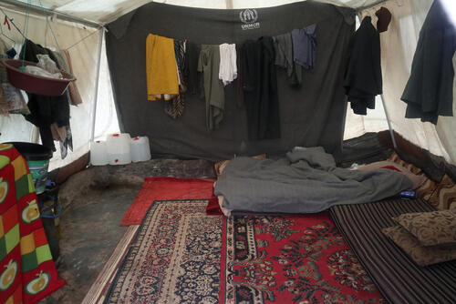 January 2020 displacement in northwest Syria