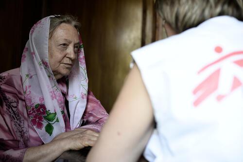 Providing care in Donetsk area
