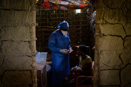 Ebola intervention in Equateur province