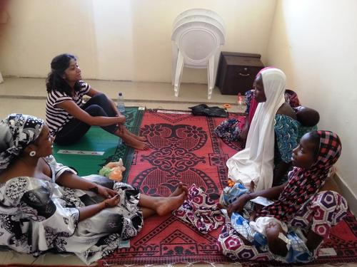 Mental Heath sessions in Maiduguri IDP camps, Borno State, Nigeria