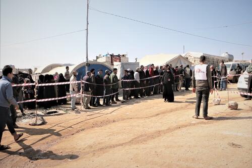 Distribution in Deir Hassan