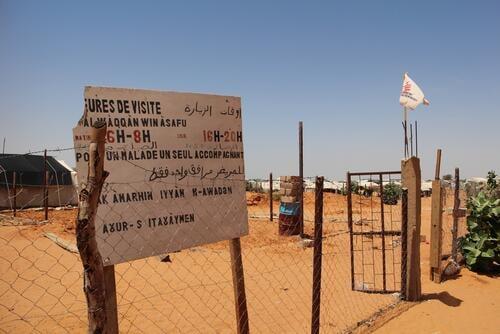 Refugees Camp  Mbera Mauritania 2013