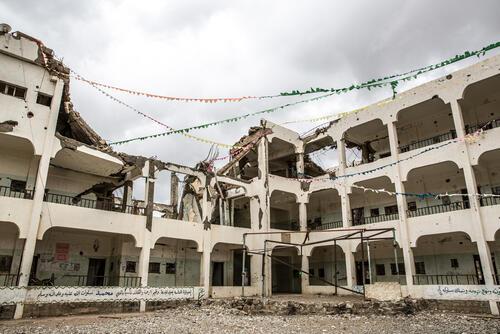 North Yemen: living under daily coalition airstrikes