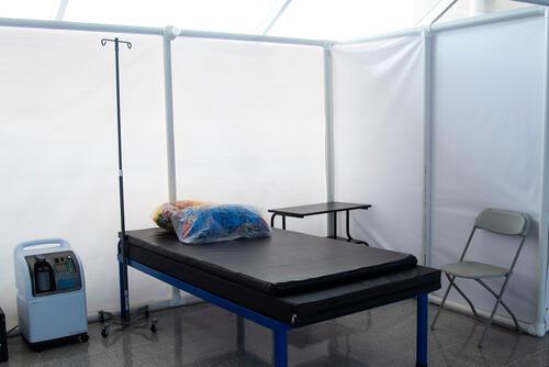 MSF Tegucigalpa's COVID-19 care centre