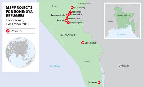 MSF activities in Bangladesh