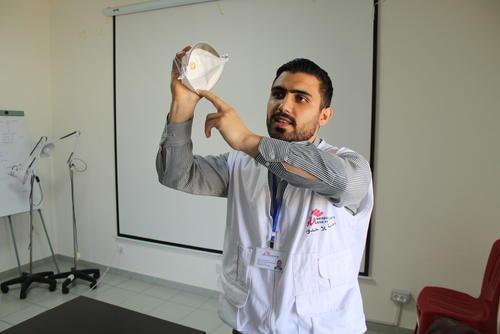 Coronavirus COVID-19 training in Lebanon