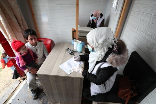 COVID-19 Prevention in Northwest Syria
