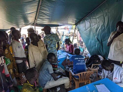Following a 53-days suspension of activities due to insecurity and COVID-19 restrictions, MSF on August 11 launched  lifesaving medical care response in Pibor town.