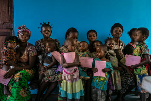 Measles campaign in DRC