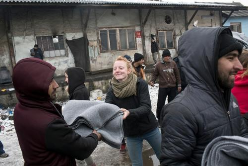 Winter Living Conditions in Belgrade, Serbia