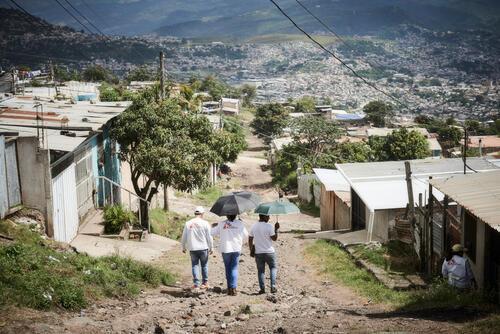 Activities in Tegucigalpa, Honduras