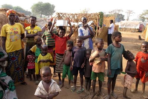 Bata IDP camp