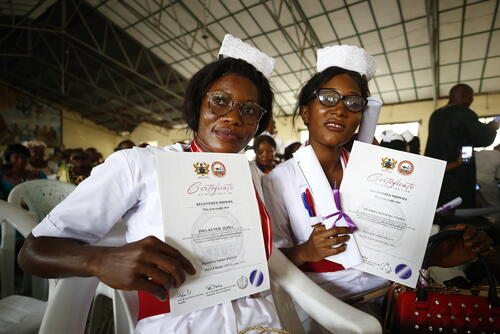Medical Academy ceremony